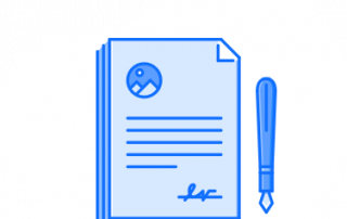 Surety document icon